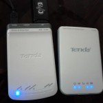 Tenda Portable 3G wireless routers model 3G150M (Left) & 3G150B (Right)