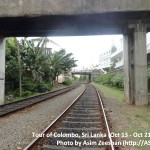 SriLanka tour - Mount Lavinia Railway Station