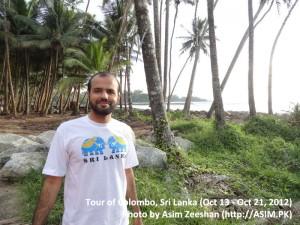 SriLanka tour - Near Hikkaduwa Beach